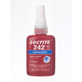 Loctite Schroefdrborging 242-50 ml