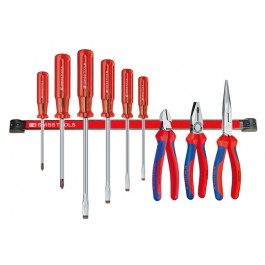 PB/Knipex 9 del.starterset, + magn.strip PB, Aktie