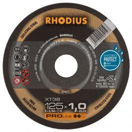 ACTIE Rhodius XT38 125x1,0 Doorslijpschijf ProLine