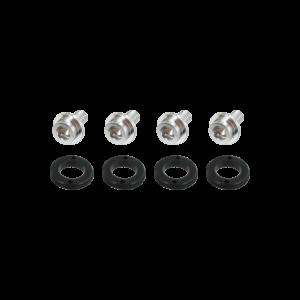 Var PE-11108 set van 4 alu doppen en bouten voor PE-11000