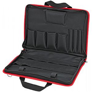 Knipex 00 21 11 LE compacte gereedschapstas voor de servicetechnicus