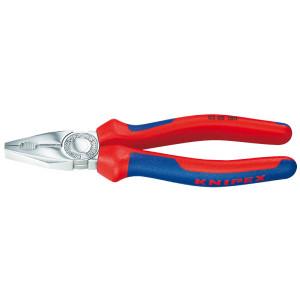 Knipex 03 05 160 kombi-tang verchroomd/comfort 160 mm