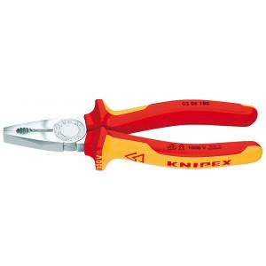 Knipex 03 06 160 kombi-tang verchr./comfort VDE 160 mm