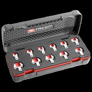 Facom 10.J11 Koffer Met Metrische Opzetsteeksleutels 9 X12 Mm Actie 2017