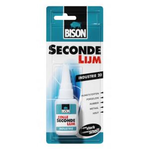 Bison Sec.Lijm Industrie Flacon 20gr.