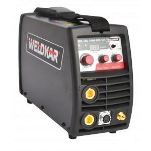 Weldkar TIG 1660 DC/HF incl. toebehoren en koffer