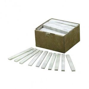 LIKR130 Krijtstiften wit 130mm  130X13X5 (100st)