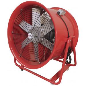 MV500R Mobiele ventilator/wiel MV500R 1100W 230V