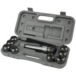 SPS021025 Set spantanghouder MK2/M10 m. 6 spantangen ER25