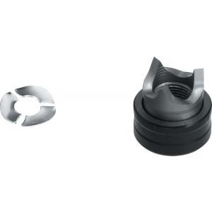 PHANTOM 67.130 Gatenpons met 3-voudig splijtstempel, voor hydraulisch gebruik, RVS