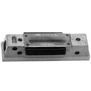 Blok (as)waterpas 200mm 0,02mm
