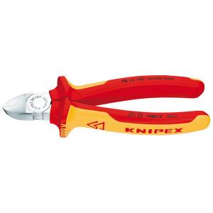 Knipex 70 26 160 zijsnijtang verchr./comfort 160 mm VDE