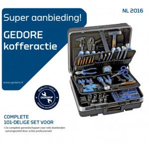 Gedore S100-120.02/M Gereedschapset 101dlg.