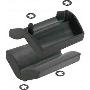 Var PR-72020 Set van 2 vervangingsrubbers voor de opspanklem NM