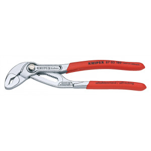 Knipex 87 03 125 waterpomptang Cobra verchr. 125 mm