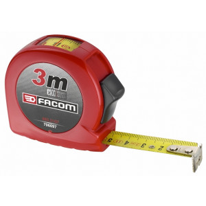 Facom 893.316F Rolmeter L 3M, B 16mm Met Kijkvenster