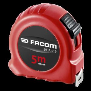 Facom 893A.519 Meetlint, Dubbelzijdig, 5M Met Blokkering - Abs Huis