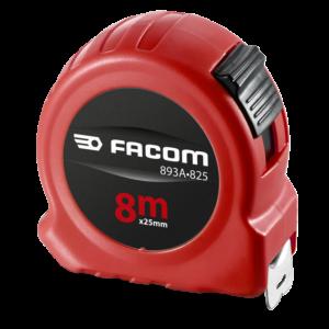 Facom 893A.825 Meetlint, Dubbelzijdig, 8M Met Blokkering - Abs Huis