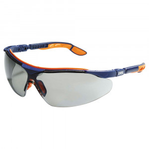 Uvex I-VO bleu/orange veiligheidsbril