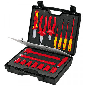 Knipex 98 99 11 kompact koffer 17-delig