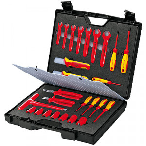 Knipex 98 99 12 kompact koffer 24-delig