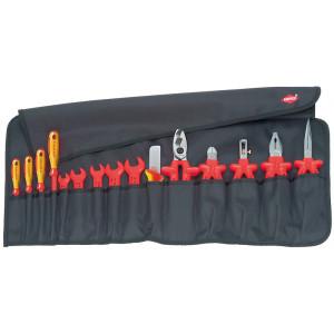 Knipex 98 99 13 gereedschaproltas 15-delig VDE