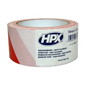 HPX Barrier Tape Wit/Rd 50mmx100M