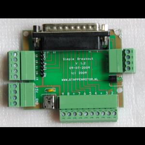 Breakoutboard simpel incl. kabels