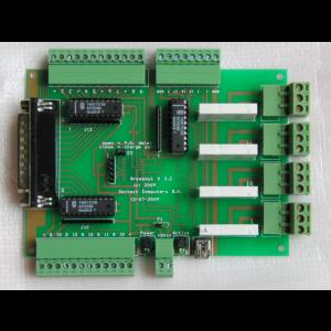Breakoutboard Amp met USB en LPT kabel
