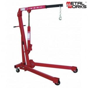 Metalworks CAT610 Werkplaatskraan (plooibaar) 1T CE (MW)