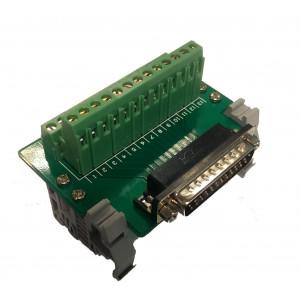 Breakout DB25 USBCNC 5a din-rail