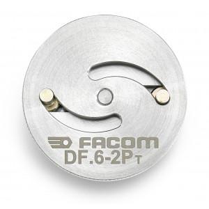 Facom DF.6-2P MULTI diameter schotel met 2 GATEN DIAM 48 MM voor DF.17, Actie 2019