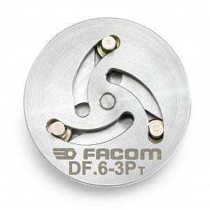 Facom DF.6-3P MULTI diameter schotel met 3 GATEN DIAM 48 MM voor DF.17, Actie 2019