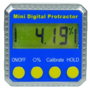 Mini digitale hoekmeter 51x51x33mm