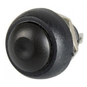 Drukknop Zwart 12mm