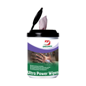 Dreumex Handreiniger Doekjes Ultra Power Wipes 90 st.