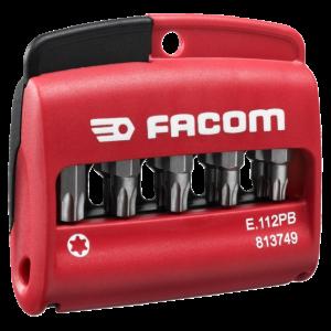 Facom E.112 Set Van 10 Bits Torx Actie 2018