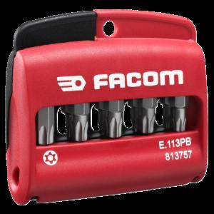 Facom E.113 Set Van 10 Bits Resistorx Actie 2018