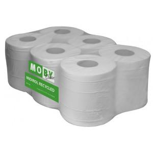 Moby Papierrol Enkellaags Midirol gerecycled papier