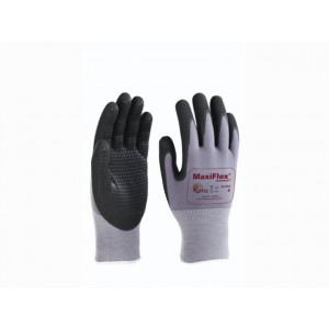 Maxiflex Endurance 34-844 black/grey mt 10, nylon/nitril