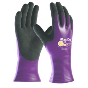 MaxiDry 56-426 paars, maat 10, nylon/nitril