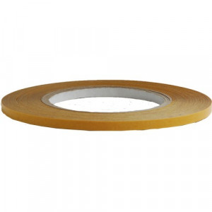 Dubbelzijdig polyester tape 9mm x 50m