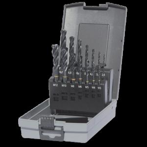 Guhring boren/tappen cassette M3-M12 blind, actie
