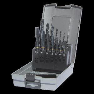 Guhring boren/tappen cassette M3-M12 doorl., actie