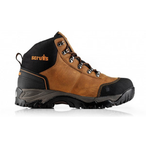 Scruffs Assault Leather Hiker Brown