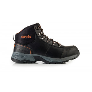 Scruffs Assault Leather Hiker Maat 7/41 Black