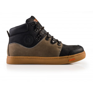 Scruffs Dual Boot Black & Taupe