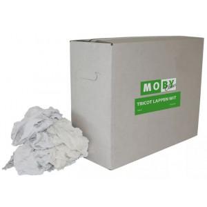 Moby tricot wit 9 kg Poetsdoeken
