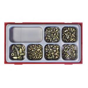 Metalworks TT01T110 Smeernippelset 110 dlg + TC-Tray 7-vak