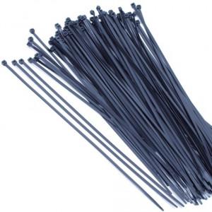 Tyrap 2,5x104 zwart (100st.)